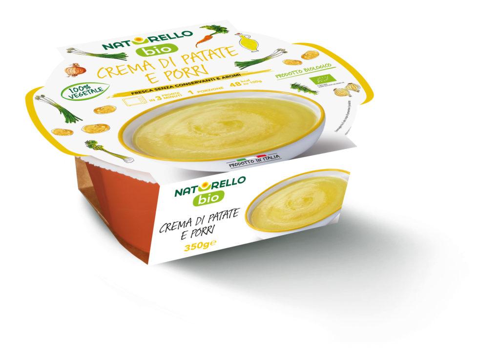 Crema patate e porri BIO