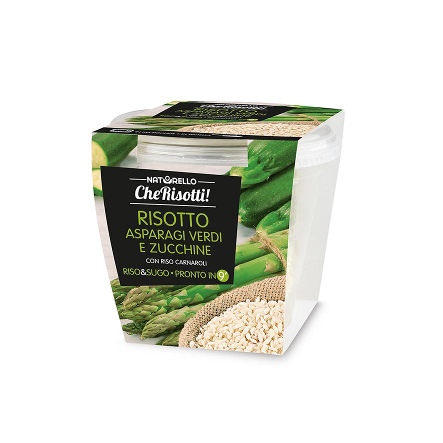 Risotto asparagi verdi e zucchine